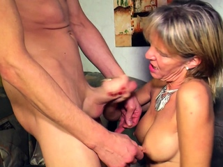 german mature mom seduced younger guy