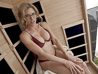 In the buff Sauna Fun With My Friends Hot Mom Part 1 Cory Chase