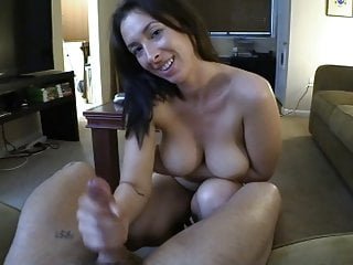 Step-Mom Makes Me Pay My Rent All over Cum