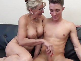 Astounding MILF with Big Boobs Gets Fucked hard by Teen