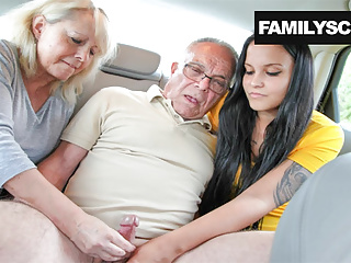 Mother increased by Daughter Taking Care of Grandpa's Needs