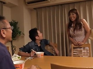 Japanese Mature Mom Gets Fucked by Stepson's Best Friend