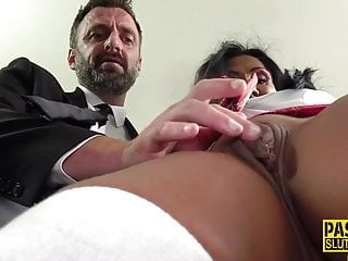 Mature sub gets throated added to pounded