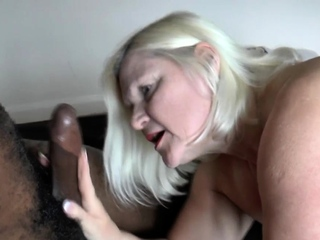 British granny forth high heels pounded by bbc