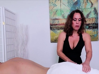 Mature Fetish Masseuse Erotic Handjob