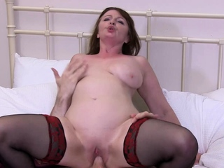AgedLovE Horny Mature Hardcore Ride on At one's disposal Stud