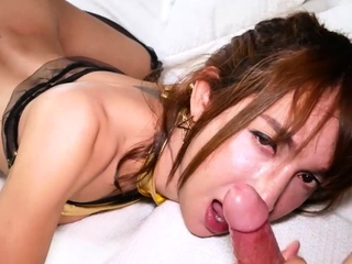 Beautiful MILF asian ladyboy slattern fucked