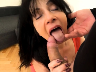 MATURE4K. Woman is old outside of still wants to fuck so boss
