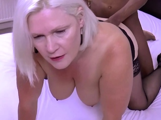 GRANNYLOVESBLACK - You Cant Go Wrong Take Heavy Black Dong