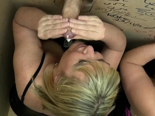 Busty grans within reach gloryholes