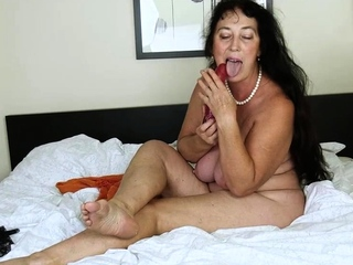 Prexy brunette with big boobs rides cock