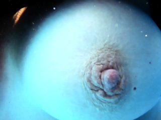 Diane Ziel swimming with big tits and big nipples
