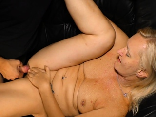 AmateurEuro - Amateur red-haired German granny enjoy a