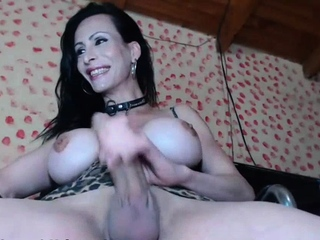 Super Hot Ts GabyGus Stroking Will not hear of Cock unaffected by Webcam 2