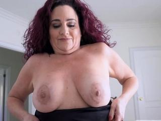 Wrex's cock deep in Nana Amanda's twat